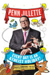 Book cover with Penn Jillette