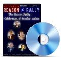 Image of Reason Rally DVD case and DVD